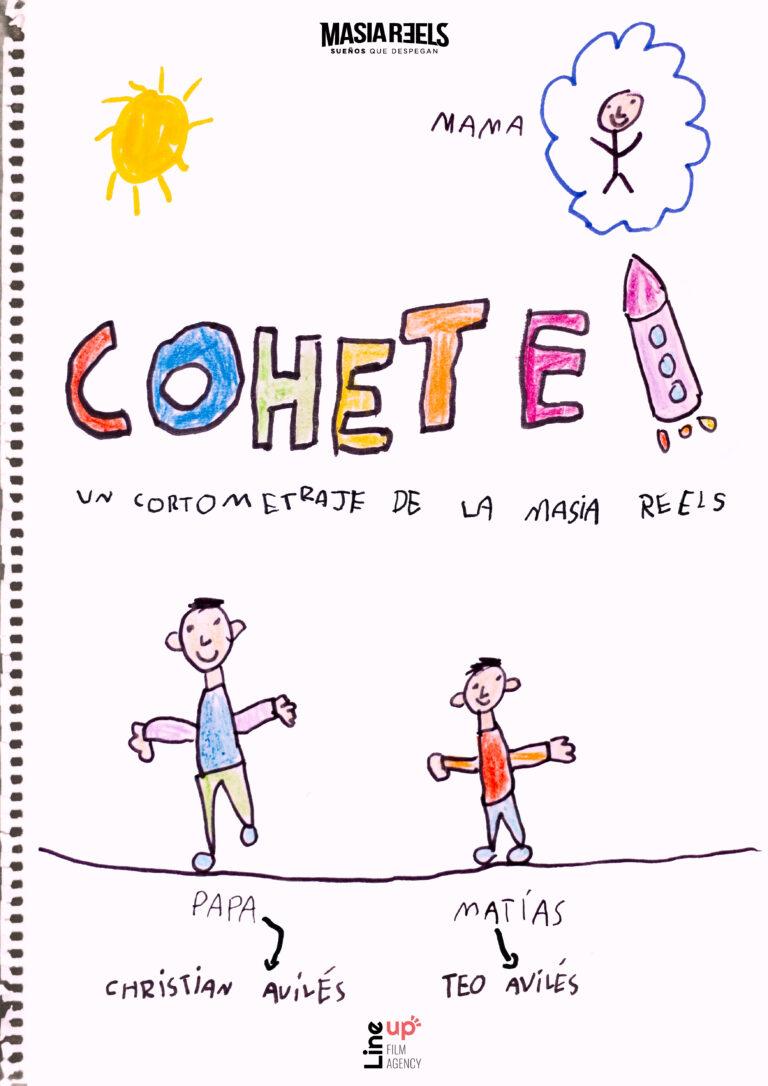 CARTEL COHETE A3